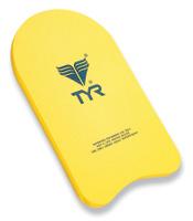"Доска для плавания TYR ""Kickboard"", цвет: желтый"