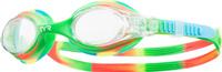 """Очки для плавания Tyr """"Swimple Tie Dye"""", цвет: прозрачный, зеленый, оранжевый. LGSWTD"""