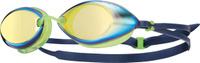 """Очки для плавания Tyr """"Tracer Racing Mirrored"""", цвет: золотой, зеленый, синий. LGTRM"""