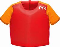 """Жилет для плавания Tyr """"Kids Flotation Shirt"""", цвет: красный. LSTSSRTE Уцененный товар (№1)"""