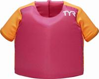 """Жилет для плавания Tyr """"Kids Flotation Shirt"""", цвет: розовый. LSTSSRTE"""