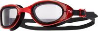 """Очки для плавания Tyr """"Special Ops 2.0 Transition"""", цвет: прозрачный, красный, черный. LGSPX"""