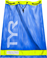 Мешок для аксессуаров Tyr Swim Gear Bag, цвет: голубой, желтый. LBD2