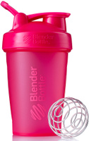 "Шейкер спортивный BlenderBottle ""Classic Full Color"", цвет: розовый, фуксия, 591 мл"
