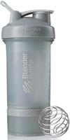 "Шейкер спортивный BlenderBottle ""ProStak Full Color"", с контейнером, цвет: серый, 650 мл"