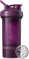 """Шейкер спортивный BlenderBottle """"ProStak Full Color"""", с контейнером, цвет: фиолетовый, 650 мл"""