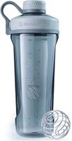 """Шейкер спортивный BlenderBottle """"Radian Tritan Full Color"""", цвет: серый, 946 мл"""