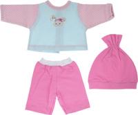 Mary Poppins Одежда для кукол Кофточка брючки и шапочка Зайка