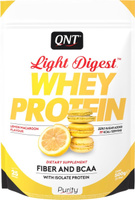 """Протеин QNT """"Light Digest Whey Protein"""", лимонно-миндальное печенье, 500 г"""