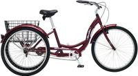 """Велосипед городской Schwinn """"Meridian"""", колесо 26"""", рама 18"""", цвет: красный"""