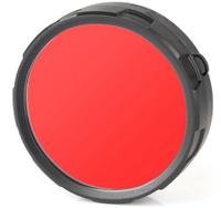 Фильтр для фонарей Olight FM20-R, цвет: красный