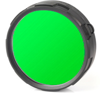 """Фильтр для фонарей Olight """"FM20-G"""", цвет: зеленый"""