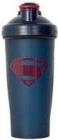 """Шейкер спортивный Irontrue """"Justice League Superman"""", цвет: темно-синий, бордовый, 700 мл"""