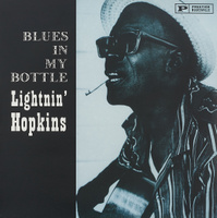 Lightnin' Hopkins. Blues In My Bottle (LP)
