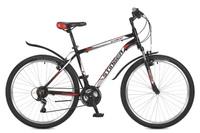 """Велосипед горный Stinger """"Element"""", цвет: черный, 26"""", рама 20"""""""