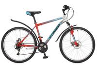 """Велосипед горный Stinger """"Caiman D"""", цвет: оранжевый, 26"""", рама 18"""". 26SHD.CAIMD.18OR7"""