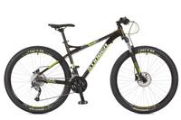 """Велосипед горный Stinger """"Zeta HD"""", цвет: черный, 27.5"""", рама 16"""""""