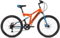 "Велосипед горный Stinger ""Highlander D"", цвет: оранжевый, 26"", рама 16"""