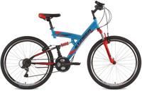 """Велосипед горный Stinger """"Banzai"""", цвет: синий, 26"""", рама 16"""""""
