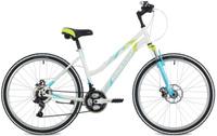 """Велосипед горный Stinger """"Latina D"""", цвет: белый, 26"""", рама 15"""""""