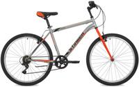 """Велосипед горный Stinger """"Defender"""", цвет: серый, 26"""", рама 16"""""""
