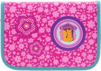 Tiger Family Пенал Nature Quest Collection с наполнением цвет розовый 00-00044706