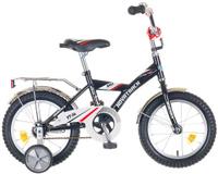 """Велосипед детский Novatrack """"BMX"""", цвет: черный, серый, 14"""""""