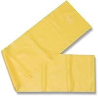 "Эспандер ленточный Indigo ""Light"", цвет: желтый, 150 х 15 см"