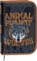 Action! Пенал Animal Planet Wolves
