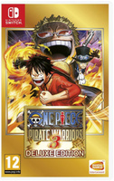 Игра One Piece Pirate Warriors 3. Deluxe Edition для Nintendo Switch