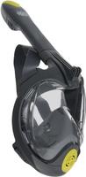 Маска для плавания Lucky Mask M2100, на все лицо, взрослая, цвет: серый. Размер L/XL