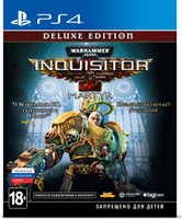 Игра Warhammer 40,000: Inquisitor - Martyr. Deluxe Edition для PS4 Sony