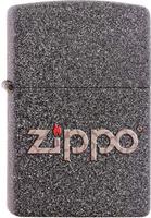 "Зажигалка Zippo ""Classic"", цвет: серый, 3,6 х 1,2 х 5,6 см. 211 SNAKESKIN ZIPPO LOGO"