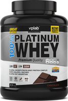"Протеин VPLab ""100% Platinum Whey"", шоколад, 2,3 кг"