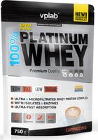 "Протеин Vplab ""100% Platinum Whey"", капучино, 750 г"