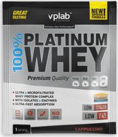 """Протеин VP Laboratory """"100% Платинум Вей"""", капучино, 30 г"""