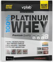 """Протеин VP Laboratory """"100% Платинум Вей"""", шоколад, 30 г"""
