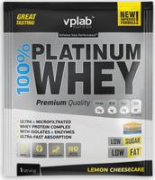 "Протеин VP Laboratory ""100% Платинум Вей"", лимонный чизкейк, 30 г"