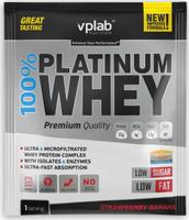 """Протеин VP Laboratory """"100% Платинум Вей"""", клубника, банан, 30 г"""
