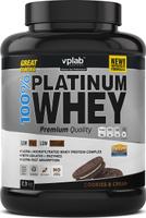 """Протеин сывороточный Vplab """"Platinum Whey"""", печенье, 2,3 кг"""