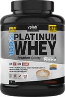 """Протеин сывороточный Vplab """"Platinum Whey"""", капучино, 2,3 кг"""