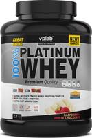 """Протеин сывороточный Vplab """"Platinum Whey"""", малина в шоколаде, 2,3 кг"""