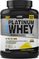"""Протеин сывороточный Vplab """"Platinum Whey"""", лимонный чизкейк, 2,3 кг"""