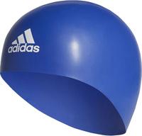 Плавательная шапочка Adidas Premoulded Silicone 3D Cap, цвет: синий. Размер M