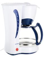 Кофеварка капельная Technika 7901, White Blue
