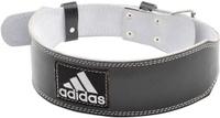 Пояс для тяжелой атлетики Adidas Leeather Lumbar Belt, цвет: черный, размер L/XL