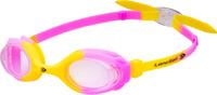 Очки для плавания детские Longsail Kids Crystal, цвет: желтый, розовый. L041231