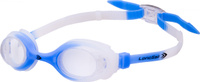 Очки для плавания детские Longsail Kids Crystal, цвет: голубой, белый. L041231