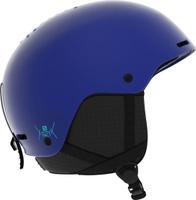 Шлем горнолыжный Salomon Pact Surf The Web, цвет: синий. Размер XS (49-53)