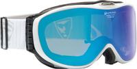 Очки горнолыжные Alpina Challenge 2.0 QM white QM S2, цвет: белый, голубой